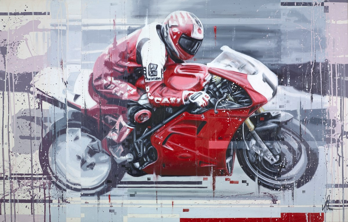 Foggy by kris hardy -  sized 44x28 inches. Available from Whitewall Galleries
